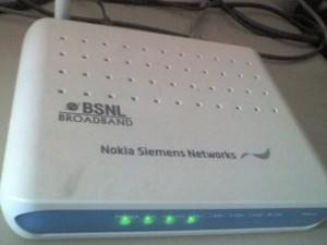 Nokia Siemens Networks BSNL Modem