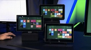 Windows 8 tablets screen photos