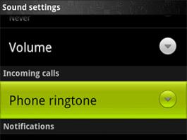 Android Custom Notification Ringtone Photos