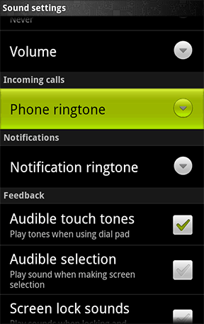 Android Custom Notification Ringtone Photos