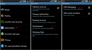 the above steps, Open the ROM Manager App in your LG Optimus L3 E400