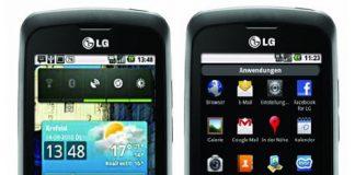 LG P500 Optimus One Root