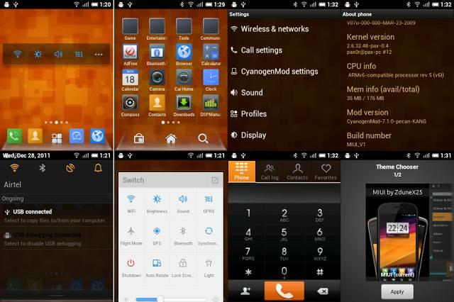 MIUI Custom ROM for LG P350