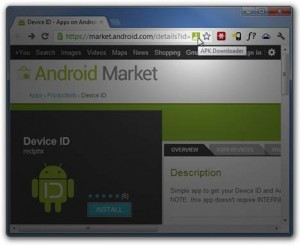 APK downloader google chrome extension for download android apps from Google play store