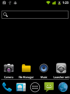 GingerDx custom rom for lg optimus me p350