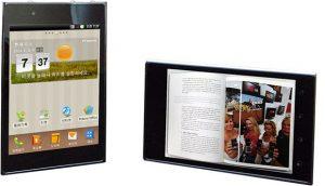 LG Optimus Vu P895 white black photos images