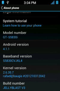 samsung galaxy ace s5830i jelly bean blast rom photos