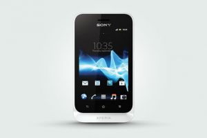 Sony Xperia Tipo White Photos