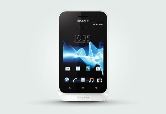 Sony Xperia Tipo White Photos