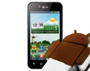 LG Optimus Black P970 ICS root Photos