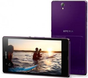 Sony Xperia Z Purple Bootloader unlock photos