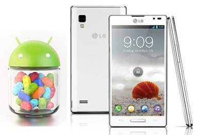 LG Optimus L9 Official Jelly Bean Update KDZ file photos