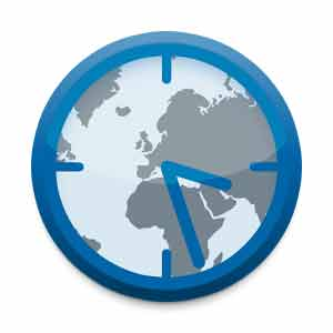 TimeZone Pro Android app