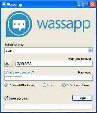 Install Wassapp on PC to use Whatsapp