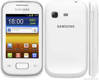 Download mode in Samsung Galaxy Pocket Plus GT-S5301
