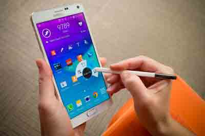 Enter recovery mode in samsung galaxy note 4