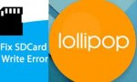 Fix External SD Card Write Error lollipop