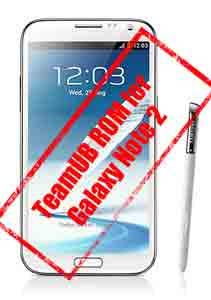 Team UB Android 5.1.1 lollipop update for samsung galaxy note 2 n7100