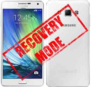 recovery mode in samsung galaxy a7