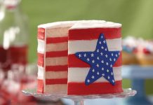4th of July Cakes - Layered Flake - Images Pictures Wallpapers