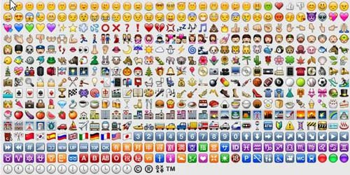 add Emoji Emoticon on whatsapp with keyboard