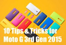 Moto G 2015 3rd generation tips and tricks