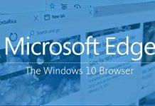 Microsoft Edge Windows 10 use Google search as default search engine