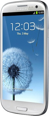 Samsung Galaxy S3 SGH-I747 at&t white clockworkmod recovery photos