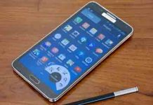 Samsung Galaxy Note 4 Download Mode with pen